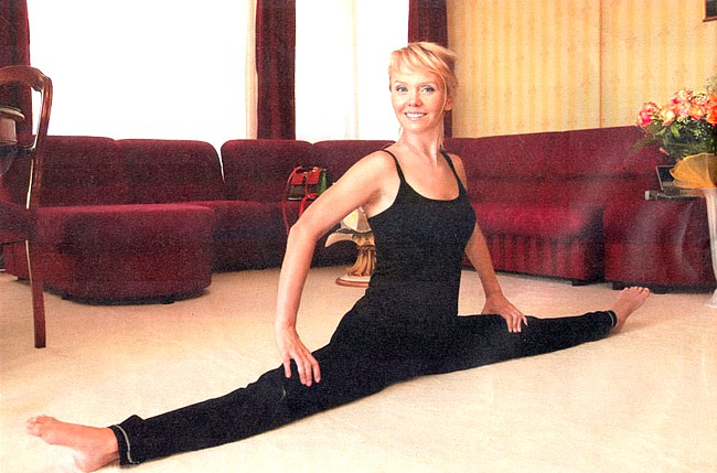 Валерия: благодаря йоге я сейчас чувствую себя лучше, чем в 17 лет